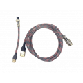 Aviator Cable - Red Black