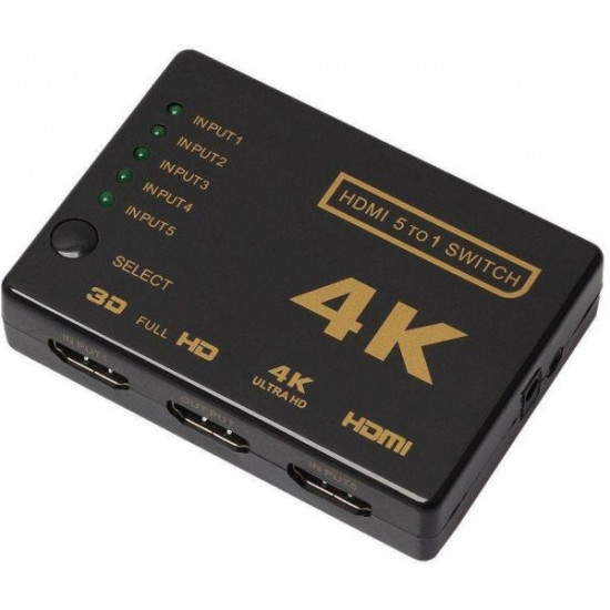 4K HDMI Switch - 3 in 1 out