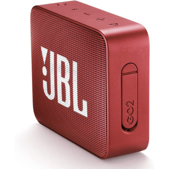 JBL Go 2 Portable Wireless Speaker - Red