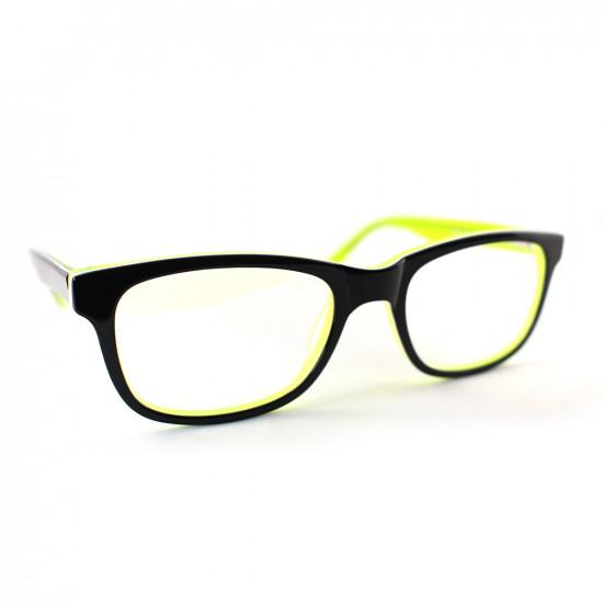 Devo Gaming Glasses - Green reflection - GR001