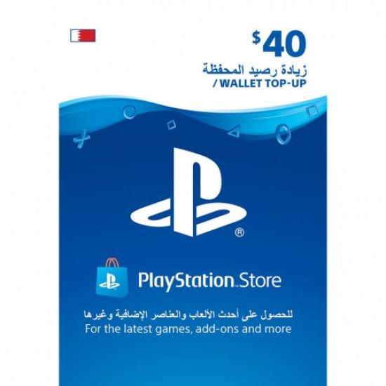 $40 PlayStation Gift Card Digital Code - Bahrain