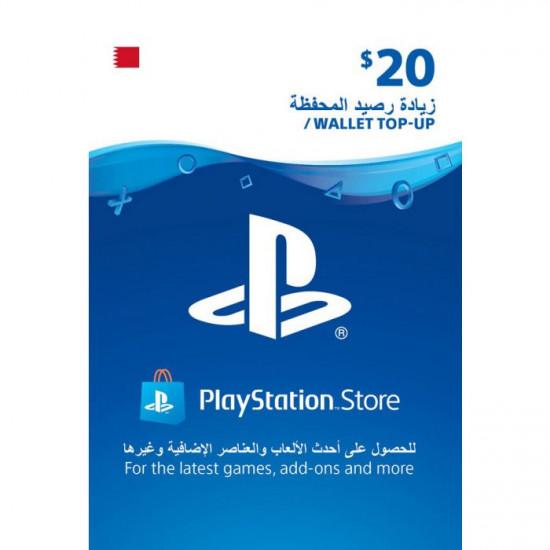 $20 PlayStation Gift Card Digital Code - Bahrain
