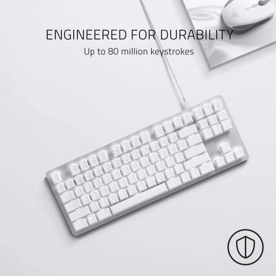 Razer BlackWidow Lite TKL Tenkeyless Mechanical Keyboard - White