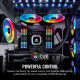 Corsair iCUE Commander PRO Smart RGB Lighting and Fan Speed Controller