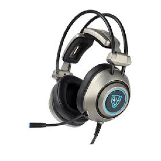 Motospeed H19 Wired Gaming headset [Grey] PS4/PC