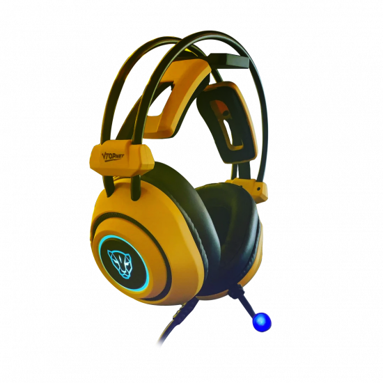 Motospeed H19 Wired Gaming headset [Yellow] PS4/PC