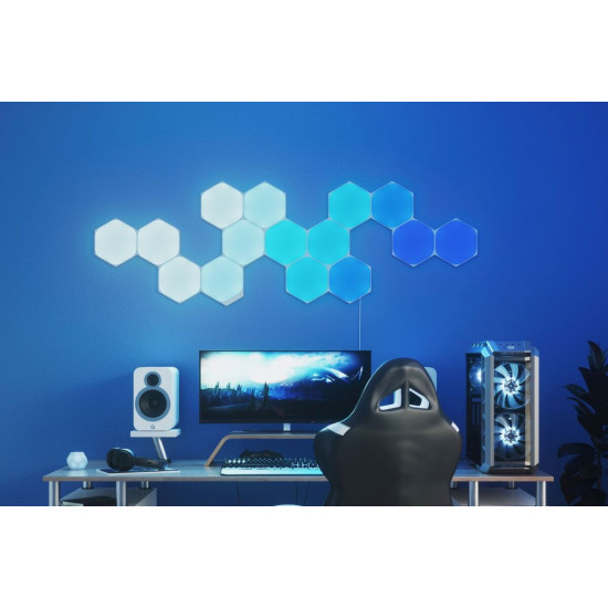 Nanoleaf Shapes - Hex - White - 15 Pack