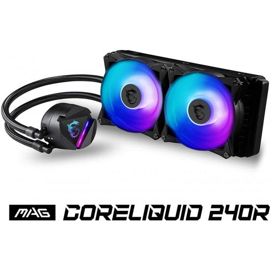 MSI MAG CORELIQUID 240R 2 ARGB fans