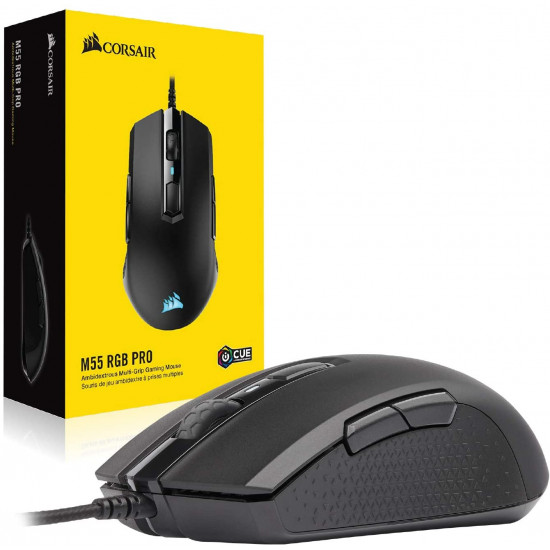 Corsair M55 RGB Pro Wired Multi-Grip Gaming Mouse