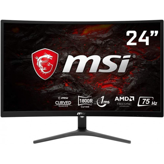 """MSI Optix G241VC 75hz - 1ms - FHD 24"""" Curved Gaming monitor"""