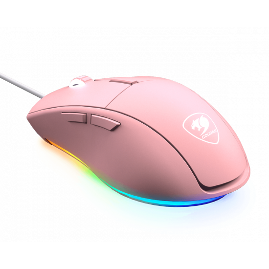 Cougar MINOS XT Gaming Mouse with RGB - Pink