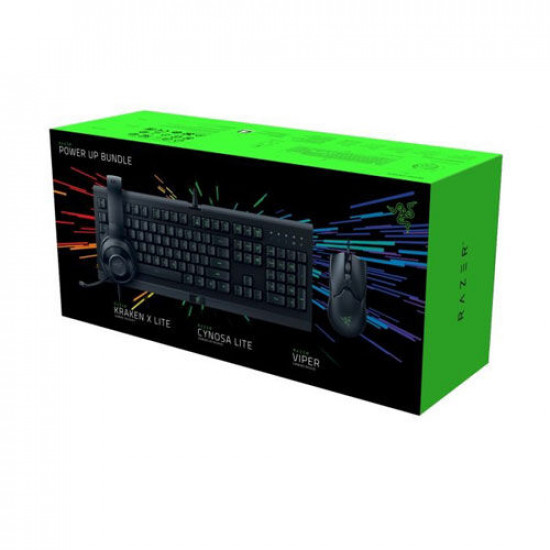 Razer Power Up Bundle Starter Kit Cynosa Viper Kraken