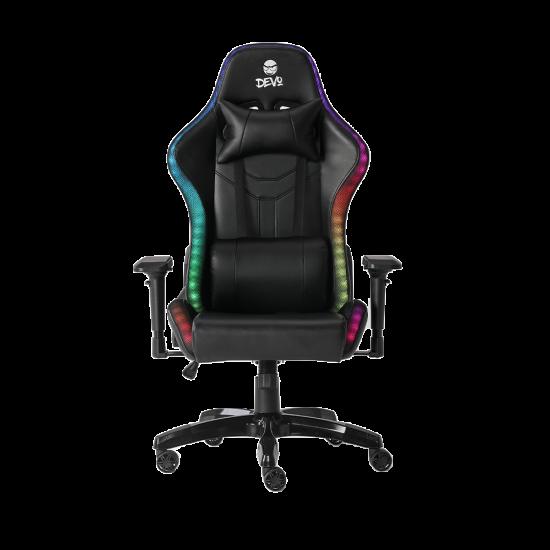 Devo Gaming Chair - Alpha Pro (RGB, Speakers)