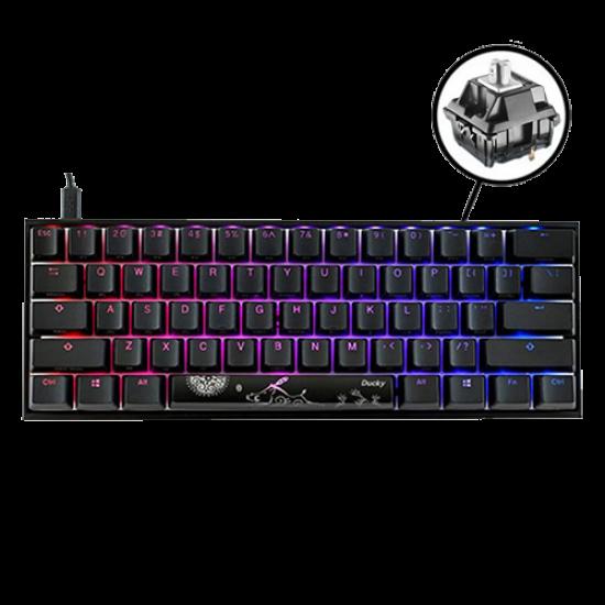 Ducky Mecha One 2 Mini RGB 60% - Cherry Speed Silver