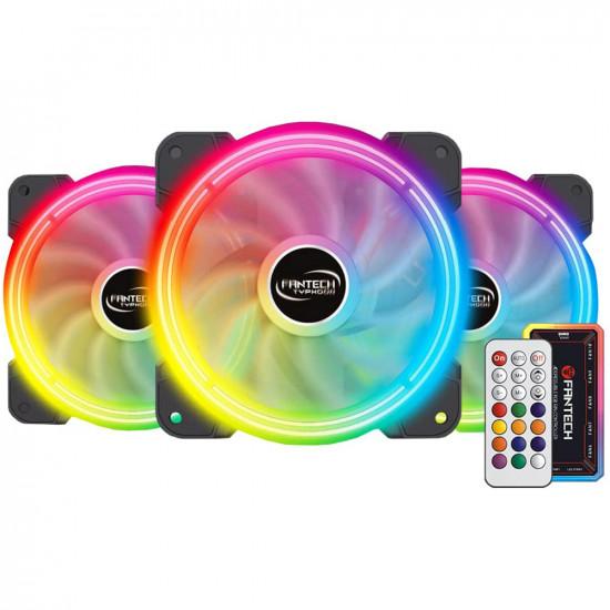 Fantech FB-302 ARGB Case fan - 3 fans and controller